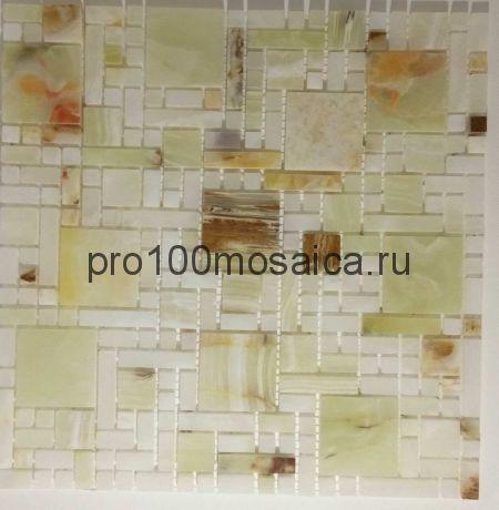 KA27 Мозаика серия Джейд, чип 48*48, размер, мм: 300*300*8 (Happy Mosaic)