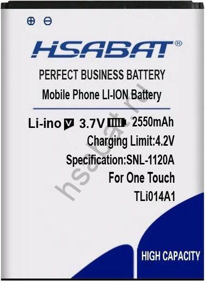Аккумулятор TLi014A1 2550 мАч