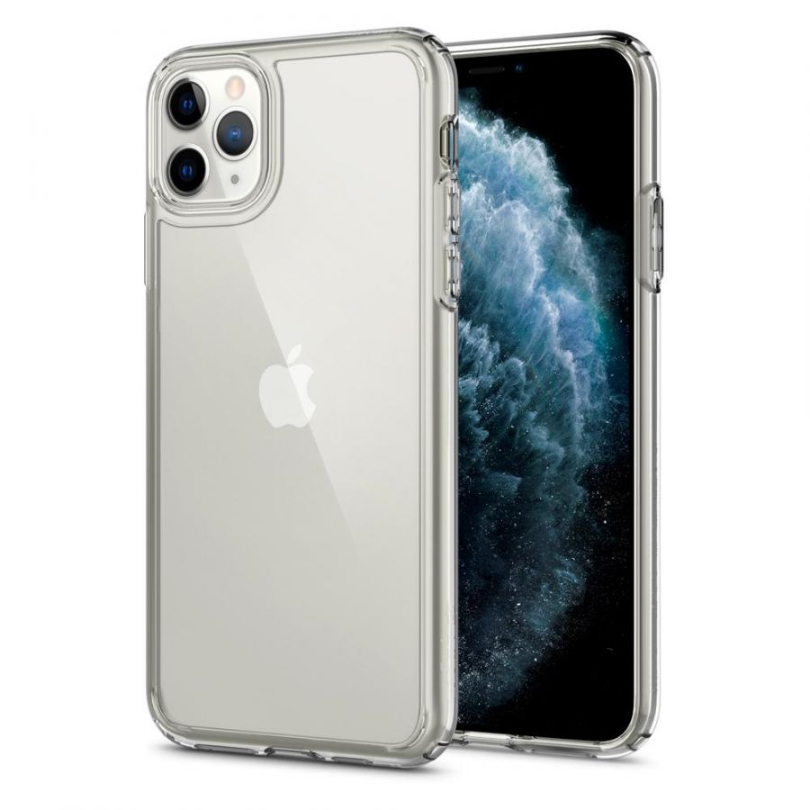 Чехол Spigen Ultra Hybrid для iPhone 11 Pro кристально-прозрачный