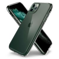 Купить оригинальный чехол Spigen Ultra Hybrid для iPhone 11 Pro прозрачный чехол для Айфон 11 Pro в Москве в интернет магазине аксессуаров для смартфонов elite-case.ru