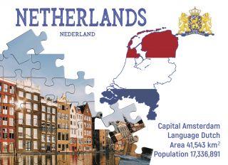 Почтовая открытка Step to the Netherlands