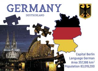 Почтовая открытка Step to Germany