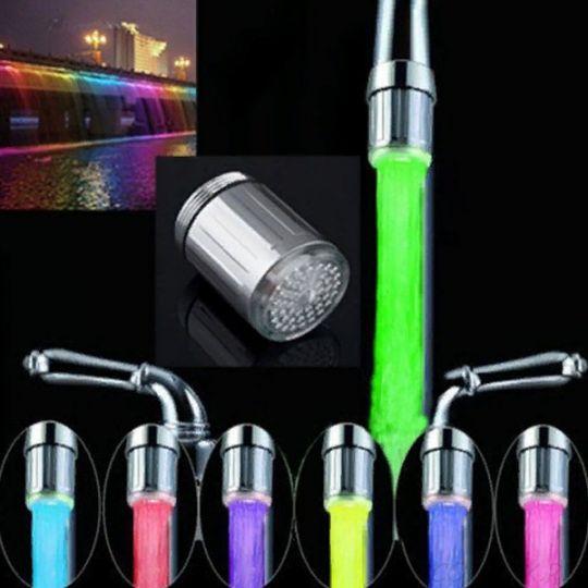Светодиодная насадка для крана Led Faucet Light