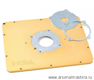 Пластина (алюминий) MagnaLOCK для крепления фрезеров (без отверстий) INCRA MLPUNDRILLED-AL