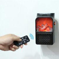 Портативный обогреватель-камин Flame Heater