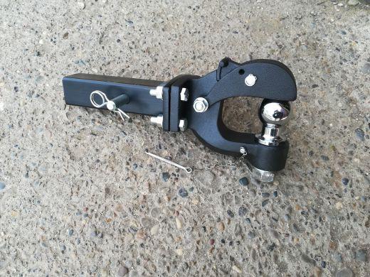 Устройство буксировочное съемное под квадрат 50x50 разборное (шар 50мм) черный