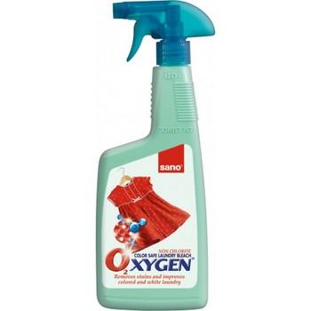 SANO Oxygen Stain Remover Универсальный пятновыводитель с активным кислородом, 750 мл