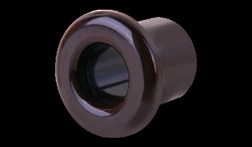 Втулка для вывода кабеля из стены 2 шт. WL18-18-01 коричневый