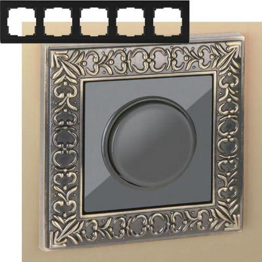 Рамка на 5 постов Werkel WL07-Frame-05 Бронза