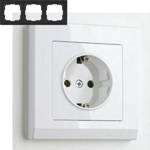 Рамка на 3 поста Werkel WL04-Frame-03 Белый