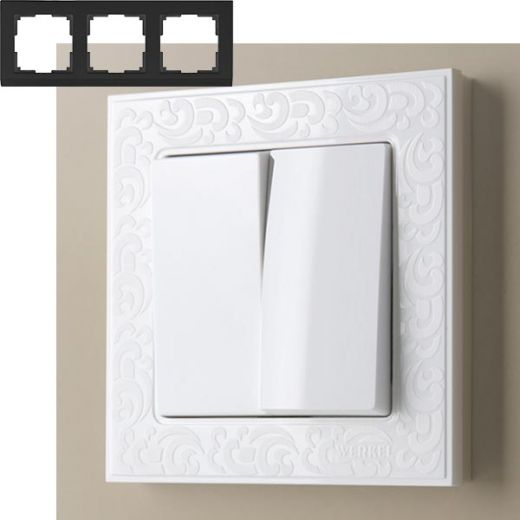 Рамка на 3 поста Werkel WL05-Frame-03 Белый