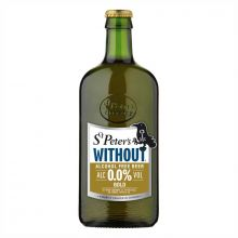 ST. PETER'S WHITHOUT GOLD (ALCOHOL FREE BEER) 0.05%