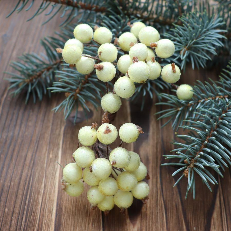 Ягоды в сахаре, Цвет Лимонный, 40 шт/упак