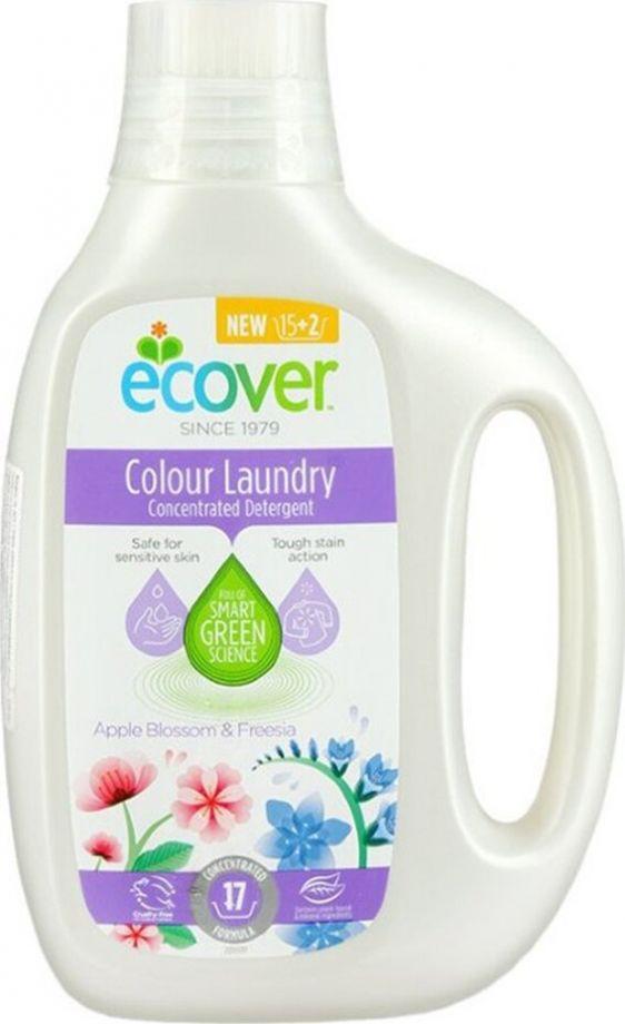 Ecover Жидкое средство для стирки цветного белья, 850 мл