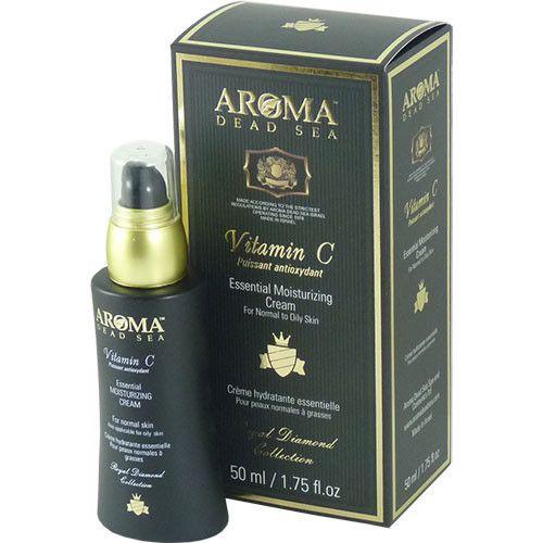 Увлажняющий дневной крем для нормальной и жирной кожи с витамином С, Aroma Dead Sea (Арома Дэд Си) 50 мл