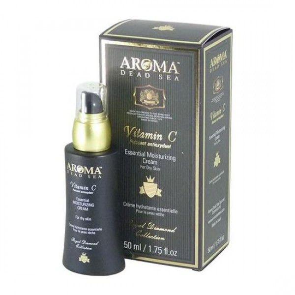 Увлажняющий дневной крем для сухой кожи с витамином С, Aroma Dead Sea (Арома Дэд Си) 50 мл