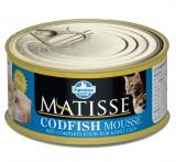 Farmina Matisse Codfish Mousse Мусс для кошек со вкусом трески, 85 гр.