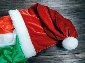 Волшебная шапка Санты - Magic hat Santa (для появления, изменения, подмены) пр-во MProps.ru