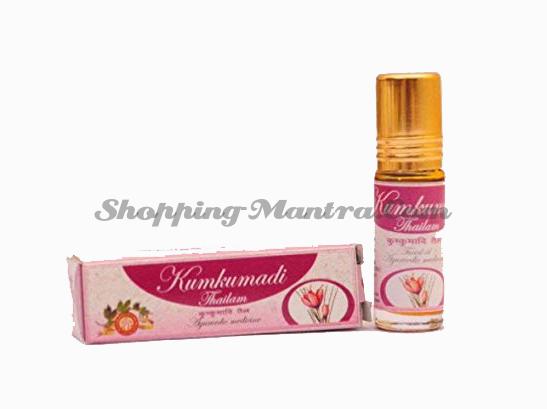 Кумкумади масло для лица Арья Вайдья Фарма (AVP) | AVP (Arya Vaidya Pharmacy) Kumadi Tailam