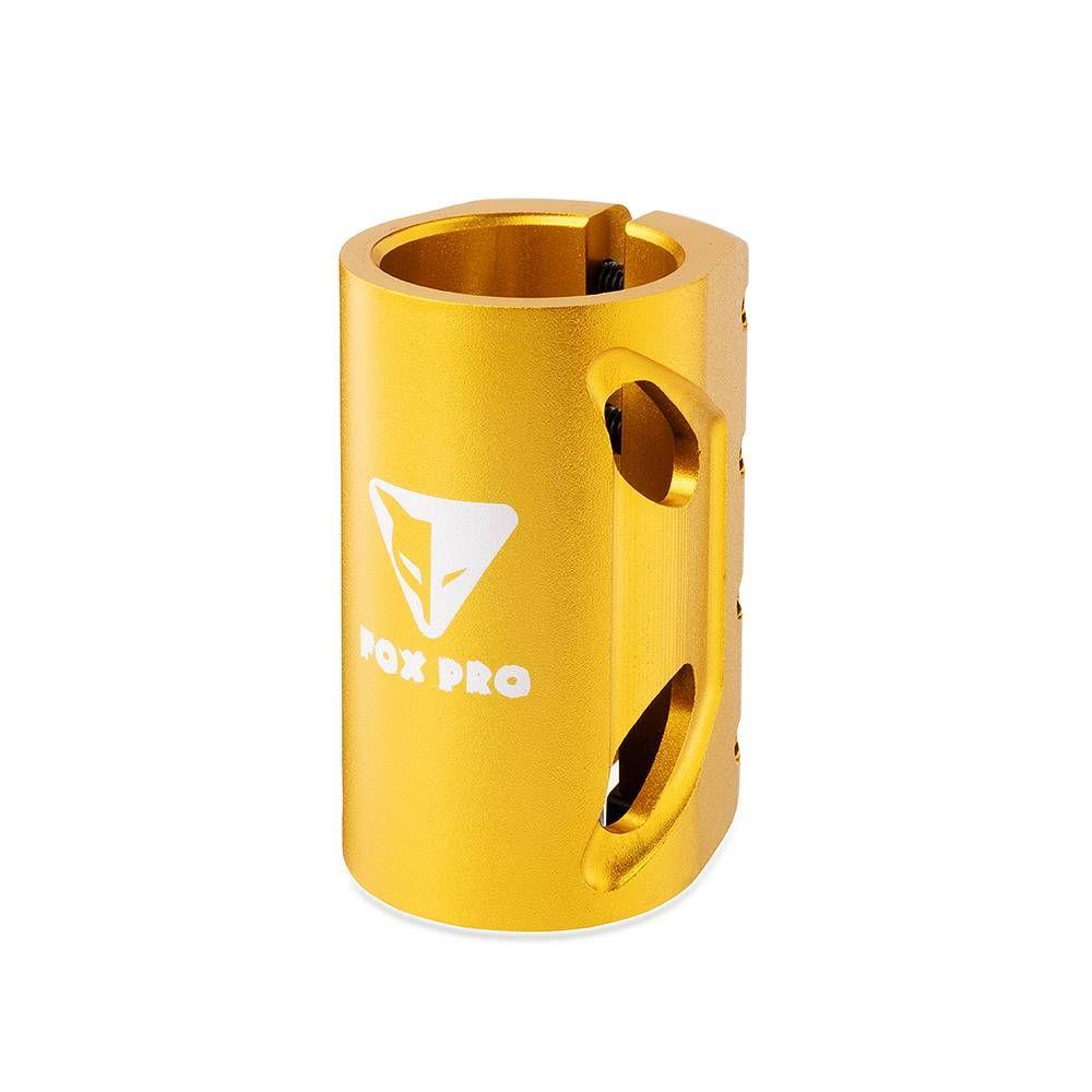 Хомут-O Fox HIC d 34.9, 4 bolt oversized Gold