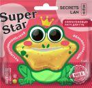 Коллагеновый патч для губ с витаминами А, Е «Gold», серии «Super Star»