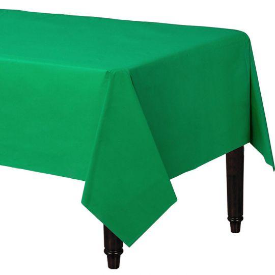 Скатерть зеленая