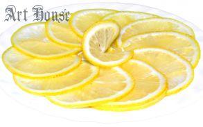 Лимонная тарелка