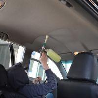 Химчистка потолка салона авто