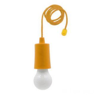 Светодиодная лампочка на шнурке Led Stretch Switch Light, Оранжевый