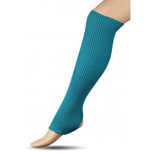 Гетры для гимнастики и танцев (шерсть) СН1 бирюзовые