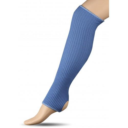 Гетры для гимнастики и танцев (шерсть) СН1 голубые