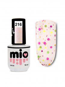 MIO гель-лак для ногтей 216, 10 ml