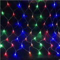 Электрогирлянда «Сетка» 500 LED, 3*2 м. Цвет Разноцветный