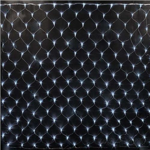 Электрогирлянда «Сетка» 400 LED, 2,5*2,5 м. Цвет Белый