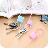 Силиконовый Хомут Lock-Shape Silicone Cable Tie, 3 шт (5)