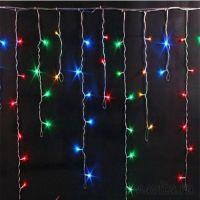 Гирлянда БАХРОМА, 100 LED, 2.5 х 0.7, Цвет Разноцветный