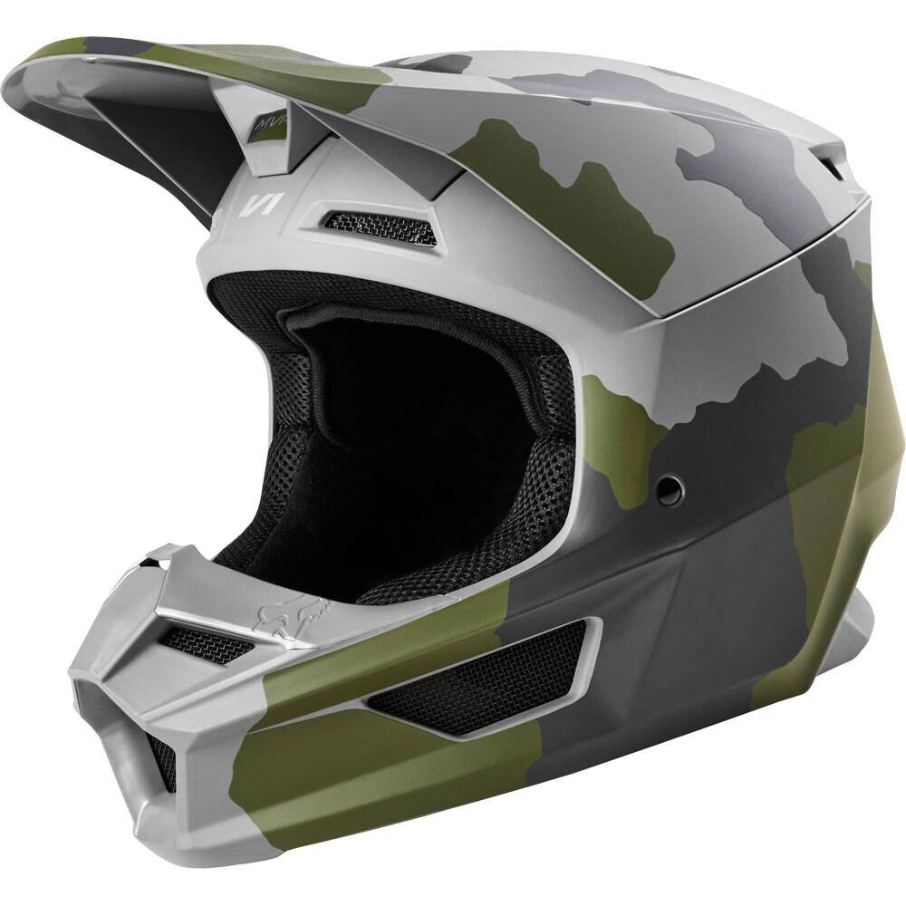 Fox V1 Przm Youth Camo шлем подростковый, камуфляжный