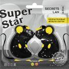 Коллагеновые мульти-патчи для лица с витаминами С, В5 «Black», серии «Super Star»