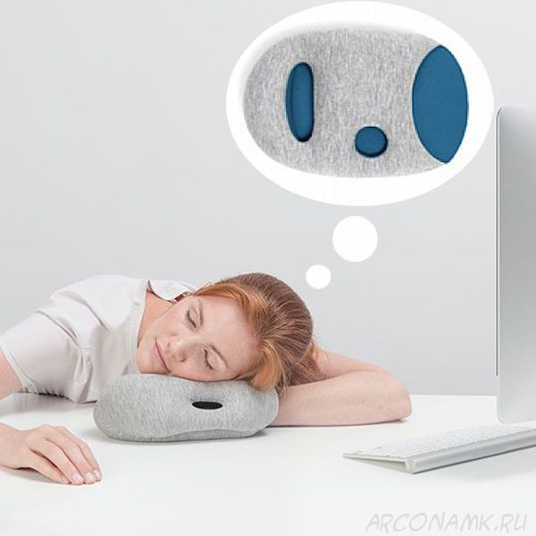 Подушка для сна на работе Napping Pillow, Синий