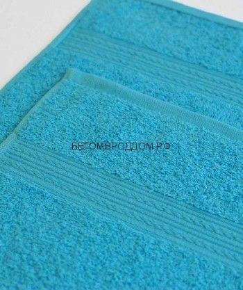 Махровое полотенце 70*140, Бирюзовый