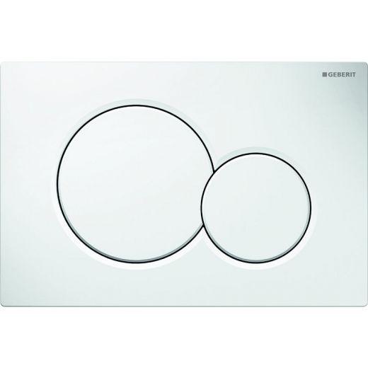 Кнопка смыва Geberit Sigma01 белый «Alpine»