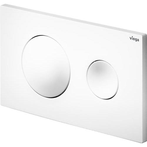 Кнопка смыва Prevista Visign for Style 20 для смывных бачков Viega пластик альпийский белый