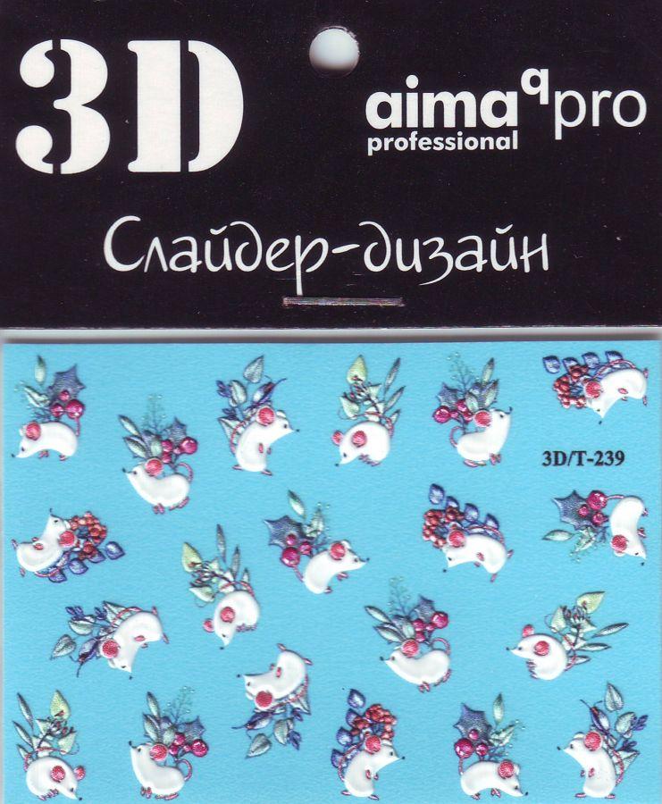 3D Слайдер-дизайн aimaqPRO 3D/Т239 новый год мышки