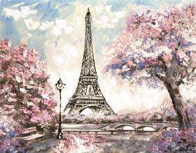 """Фон стена """"Paris"""""""
