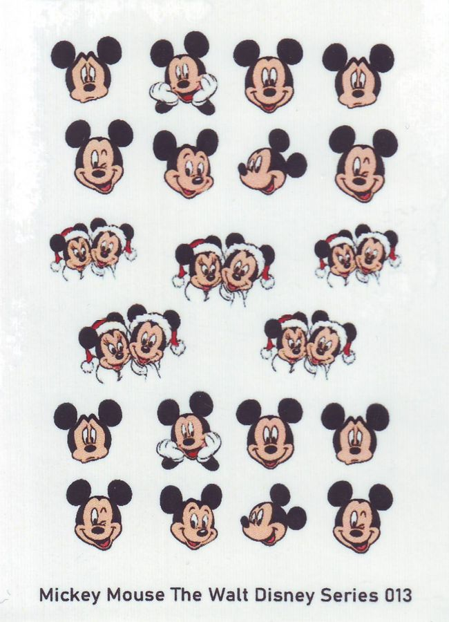 Слайдер-дизайн MICKEY MOUSE WALT DISNEY SERIES 013