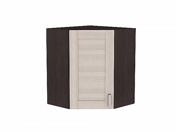 Шкаф верхний угловой Лофт ВУ590 (Cappuccino Veralinga)