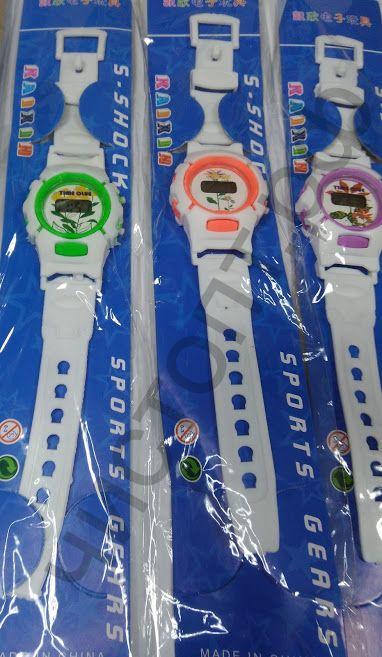 Часы наручн.электрн. детские WKK-402 цветные на блистере