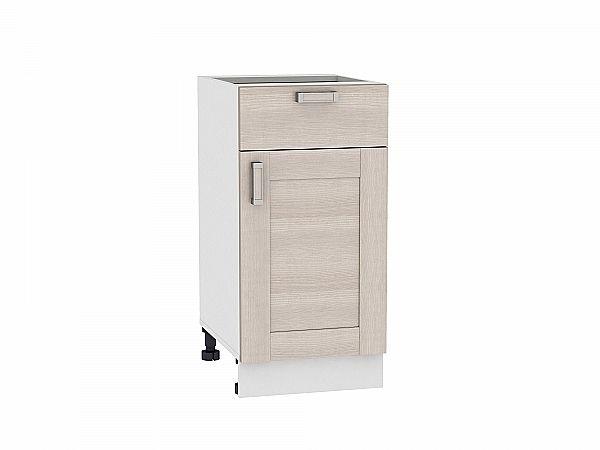 Шкаф нижний Лофт Н401 (Cappuccino Veralinga)