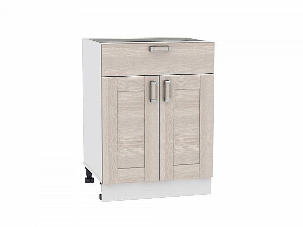 Шкаф нижний Лофт Н601 (Cappuccino Veralinga)