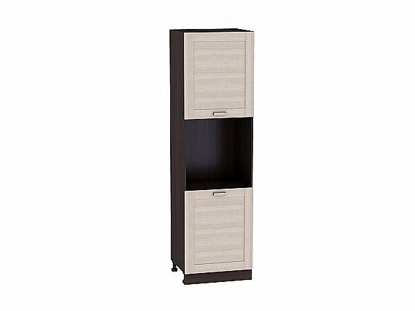 Шкаф пенал под бытовую технику Лофт ШП600 (Cappuccino Veralinga)